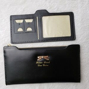 Forever Friend Your Choice Bags - 3/$20 Forever Friend Your Choice Black Slim Wallet